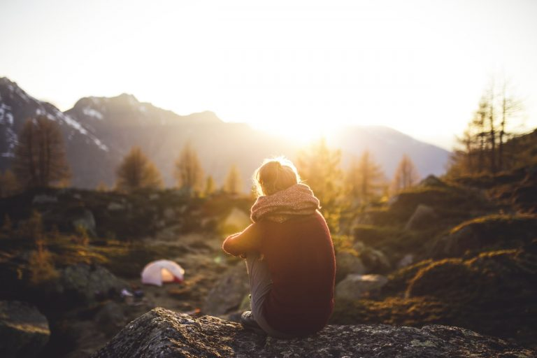 Taking a camping trip sounds like a great way to improve my mental health... But this is more about what I do in my everyday life.